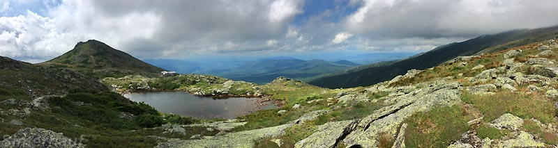 Auf dem Mount Washington