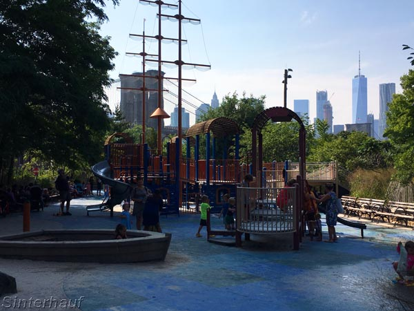 Spielplatz in Brooklyn