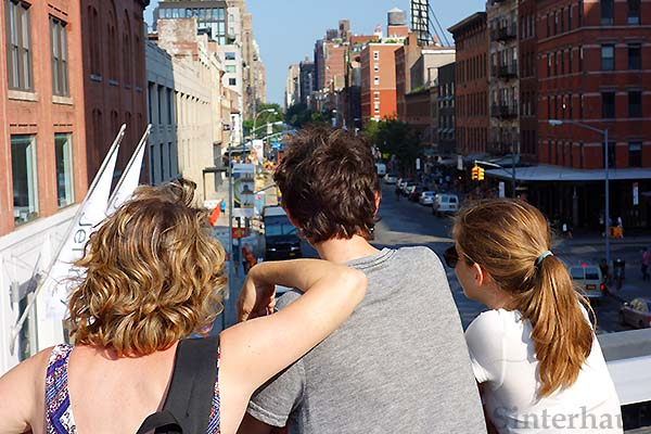 New York mal anders - vom High Line Park aus