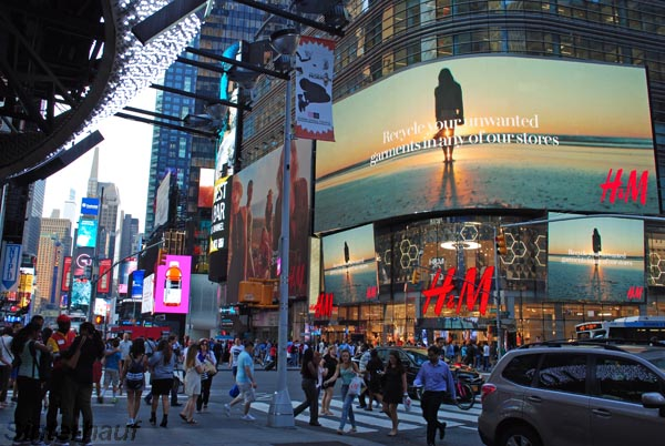 Shoppen gehen ist ein Muss für New York