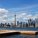 Toronto von Toronto Islands aus