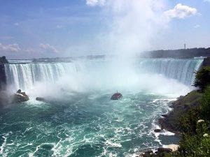 Die kanadischen Niagarafälle