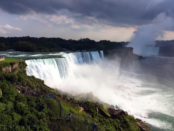 Die amerikanischen Niagarafälle