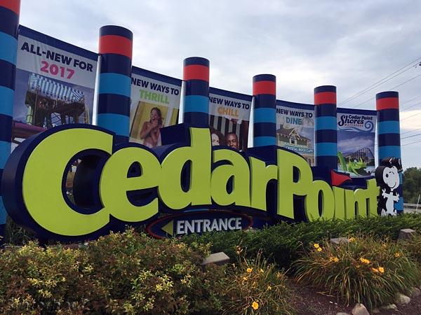 Eingang zum Cedar Point