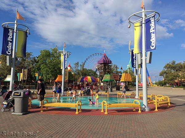 Wasserspielplatz im Cedar Point
