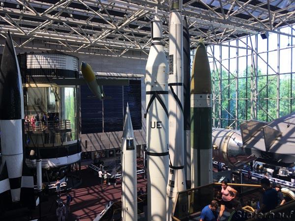 Raumfahrtexponate im Air and Space Museum