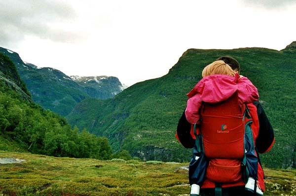 Wandern mit Kleinkind in Norwegen