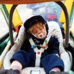 Radtour mit Baby oder Kleinkind