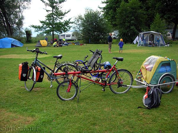 Nur mit dem richtigen Gefährt macht eine Radreise Spaß