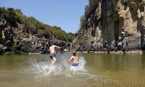 Vulci Badevergnügen