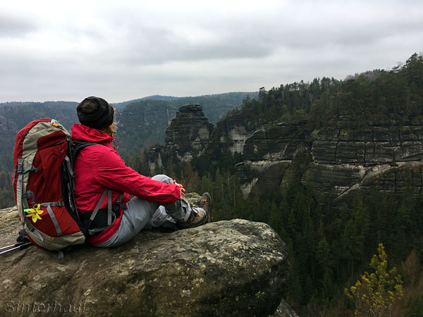 Im Kerngebiet des Naturschutzgebietes Sächsische Schweiz
