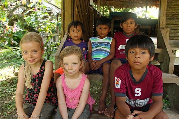 Bei den Bribiindianern