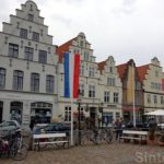 Hübsche nordische Städtchen auf dem Wikinger-Friesen-Weg