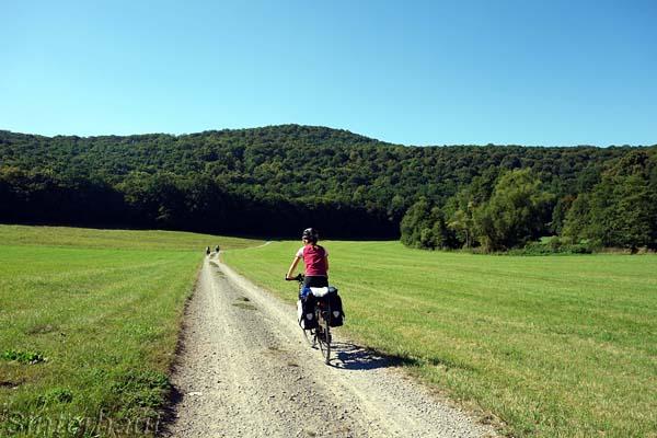 Der Fränkische Saale Radweg
