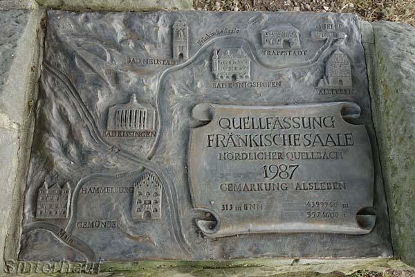 Die Quelle der Fränkischen Saale