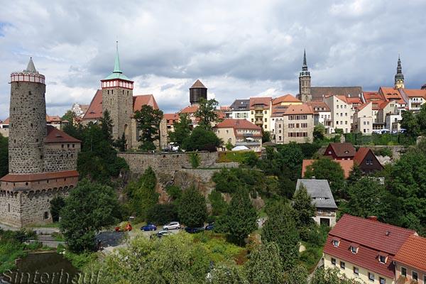 Die sehr schöne Stadt Bautzen an der Spree