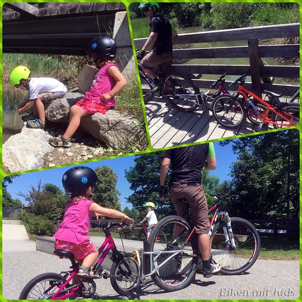 Biken mit Kids
