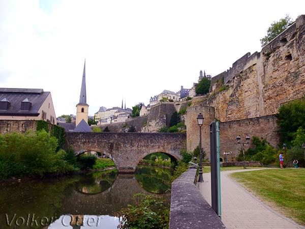 Luxemburgs Unterstadt