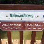 Vereinigung der beiden Mainzuläufe