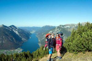 Die Gipfelfamilie auf Bergtour