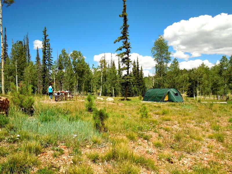 Campingplatz am Grand Canyon Noth Rim