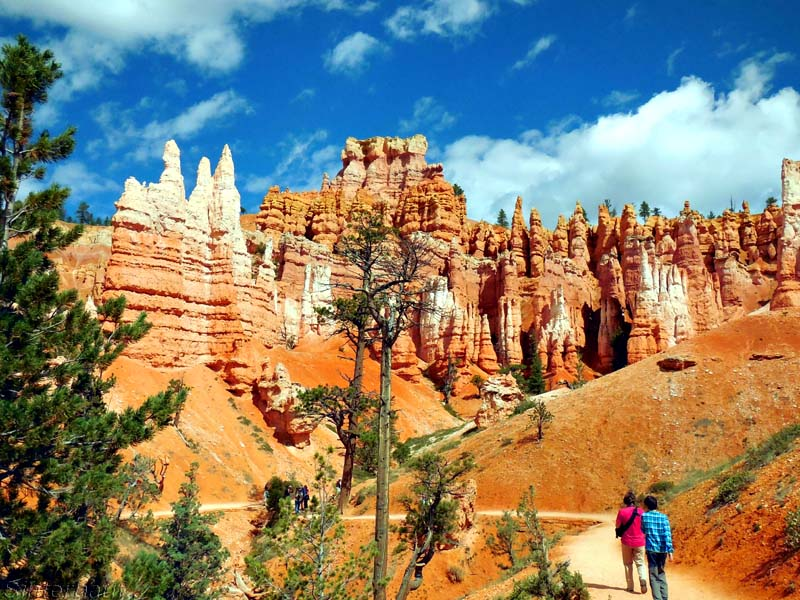 Wandern im Bryce Canyon NP