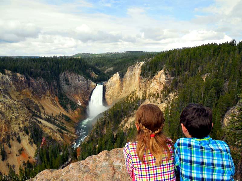 Die Upper Falls im Grand Canyon des Yellowstone