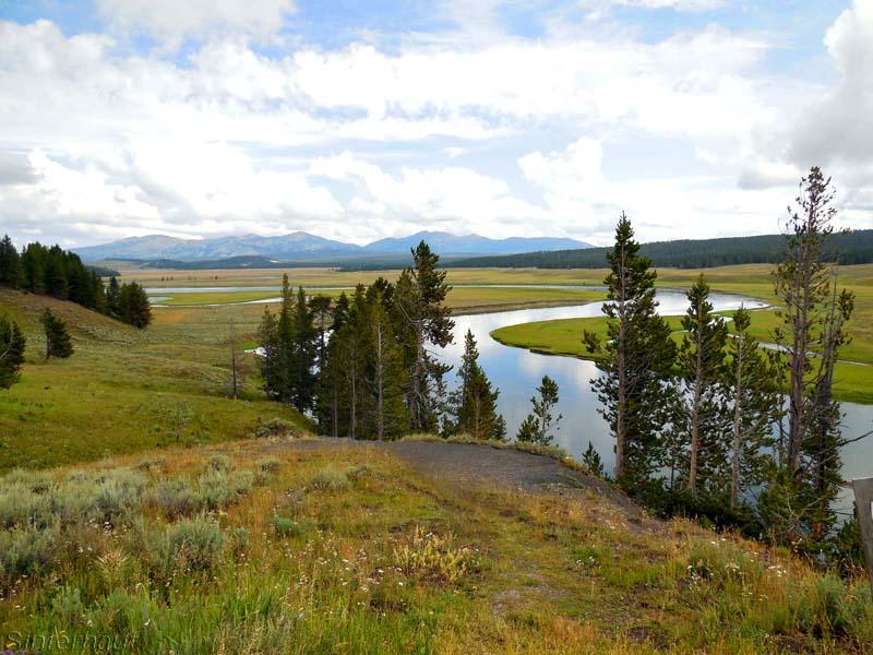 Abschied vom Yellowstone Nationalpark