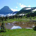 Landschaft im Glacier NP