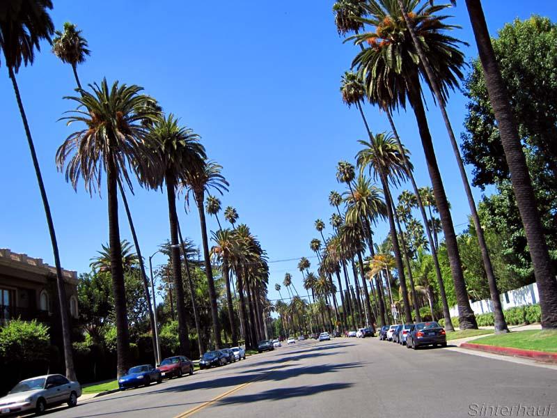 In den Straßen von Beverly Hills
