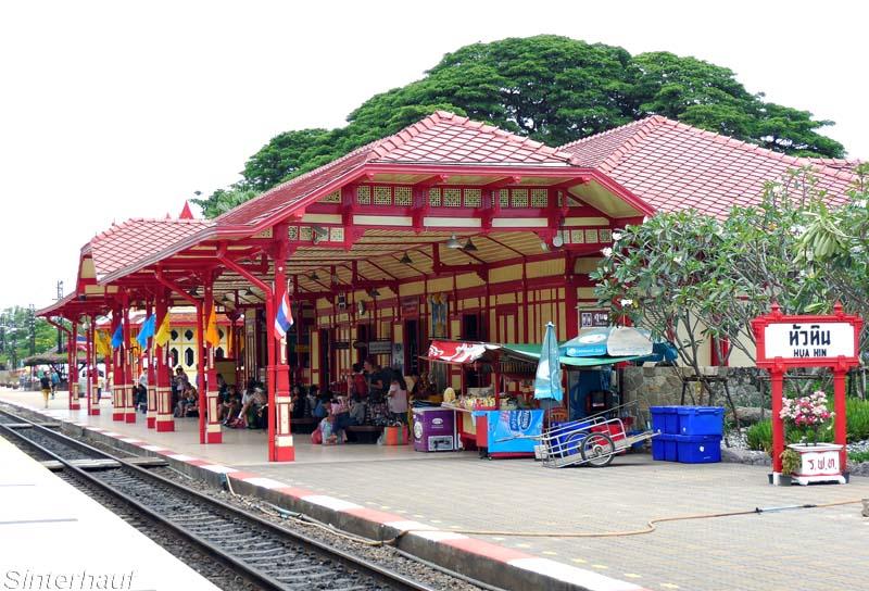 Hua Hin Bahnhof