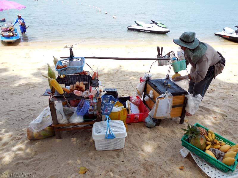 Händler auf Ko Samui