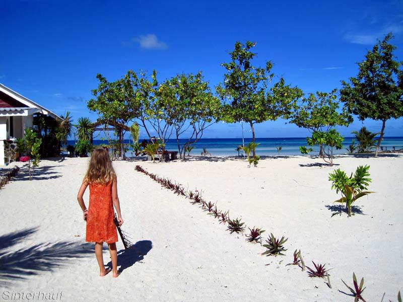 Auf Ko Phangan ist der Strand nie weit