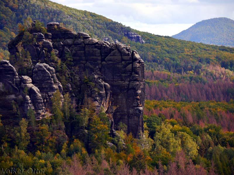 Wanderung zum Schrammstein
