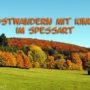 Herbstwandern mit Kindern im Spessart